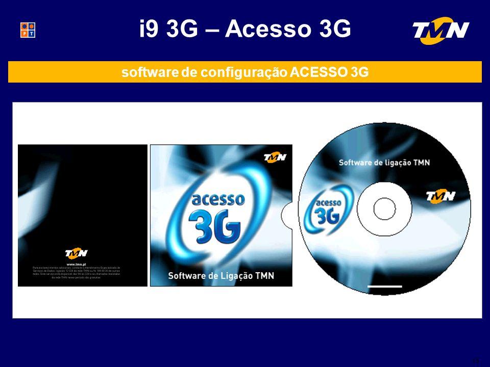 software de configuração ACESSO 3G