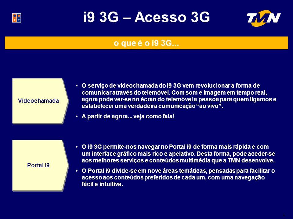 o que é o i9 3G...