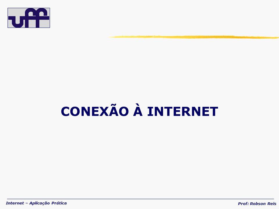 CONEXÃO À INTERNET