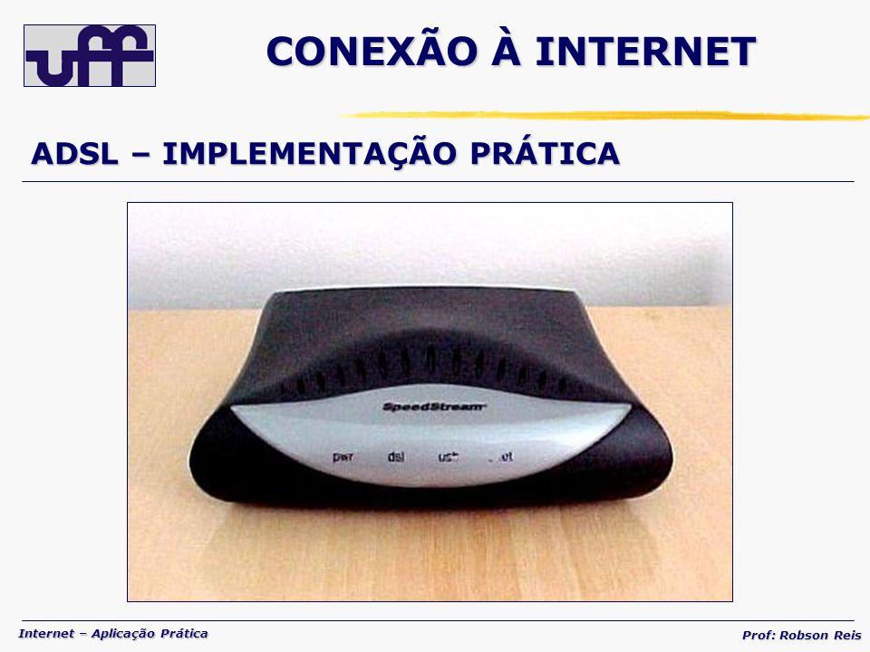 CONEXÃO À INTERNET ADSL – IMPLEMENTAÇÃO PRÁTICA