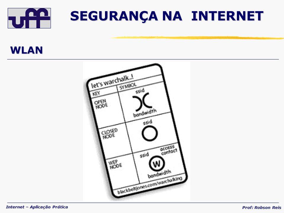 SEGURANÇA NA INTERNET WLAN
