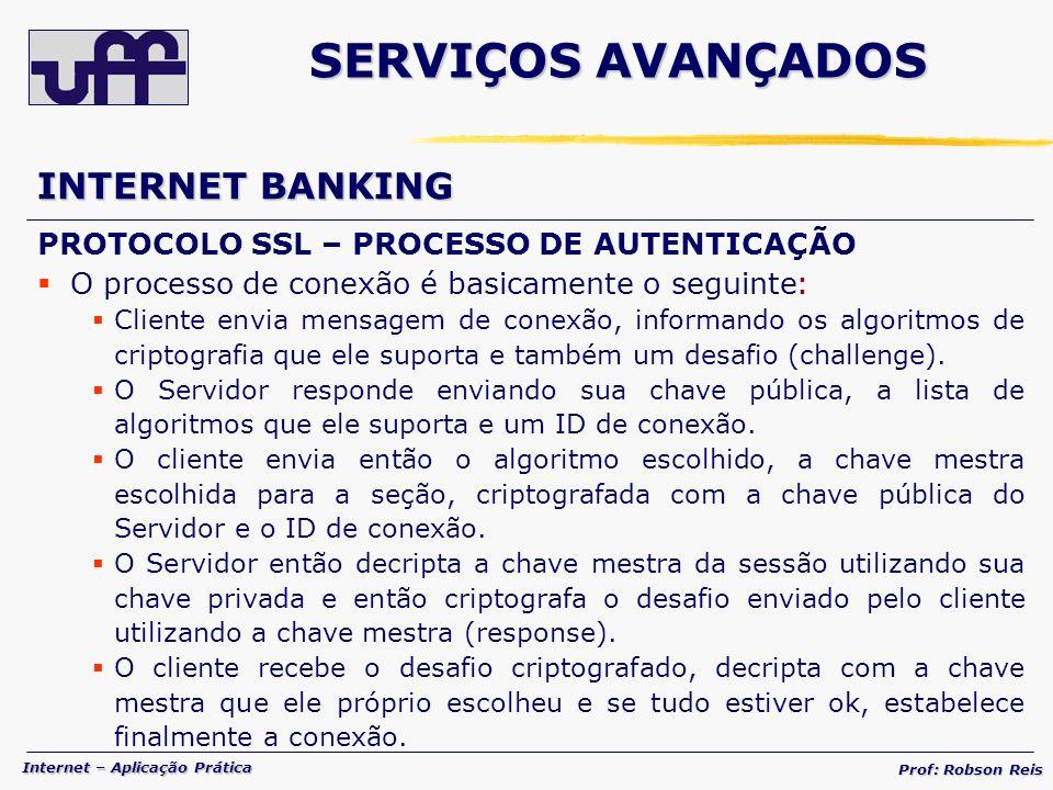 SERVIÇOS AVANÇADOS INTERNET BANKING