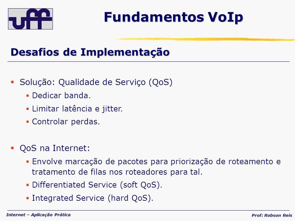 Fundamentos VoIp Desafios de Implementação
