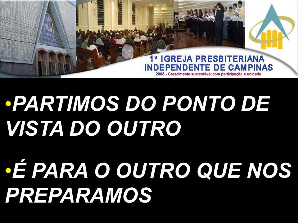 PARTIMOS DO PONTO DE VISTA DO OUTRO