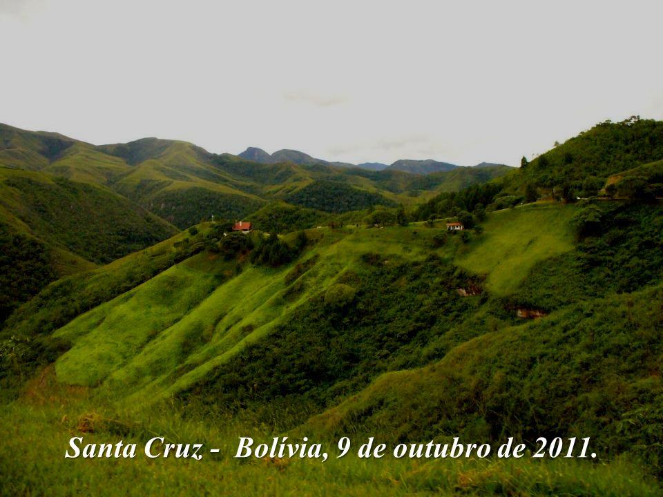 Santa Cruz - Bolívia, 9 de outubro de 2011.