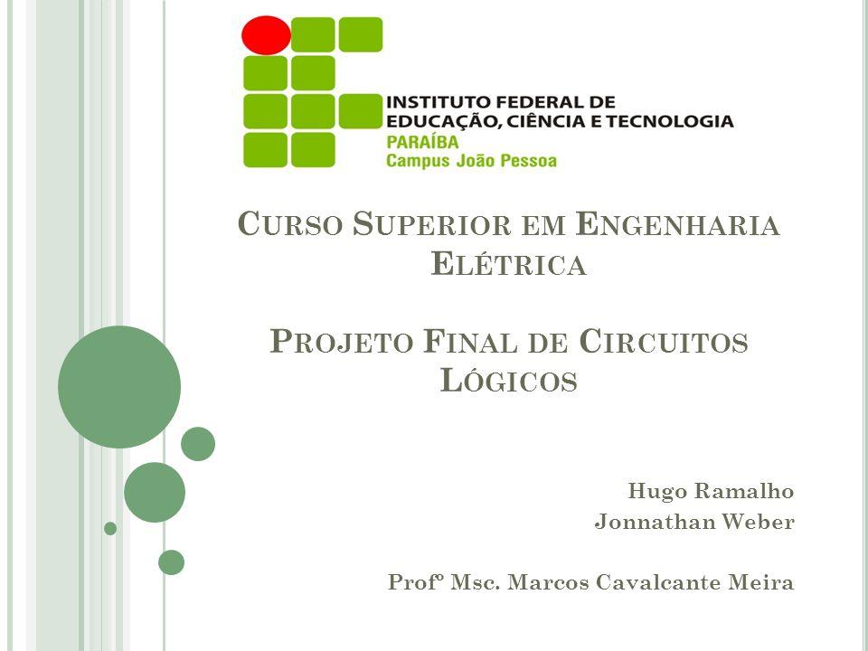 Hugo Ramalho Jonnathan Weber Profº Msc. Marcos Cavalcante Meira