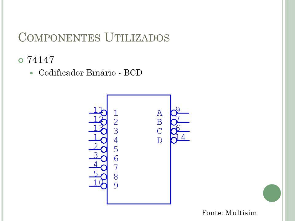 Componentes Utilizados