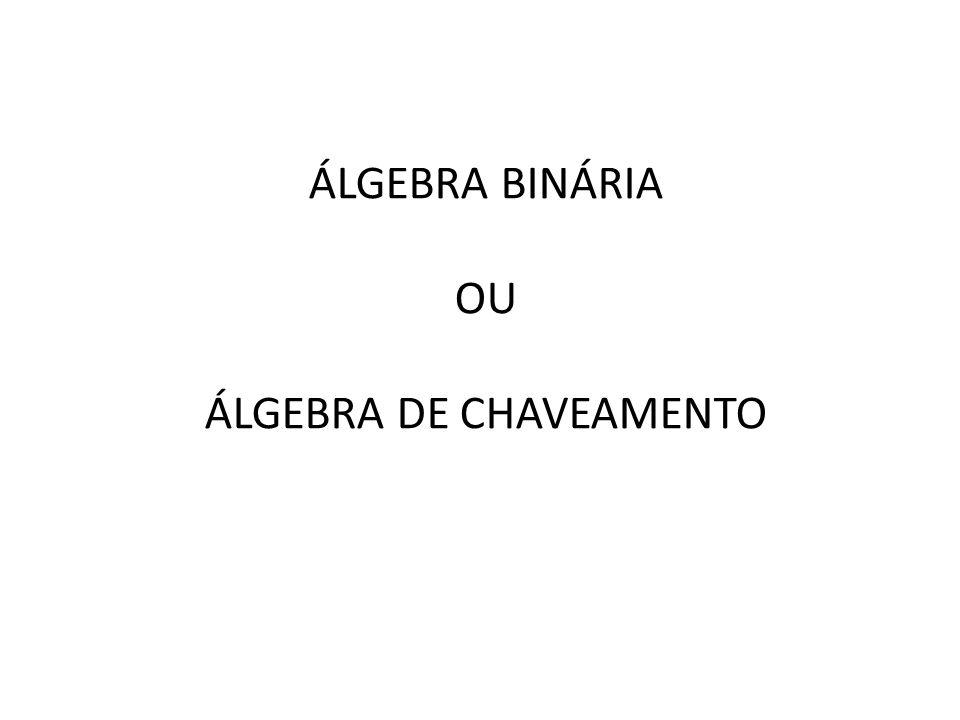 ÁLGEBRA DE CHAVEAMENTO