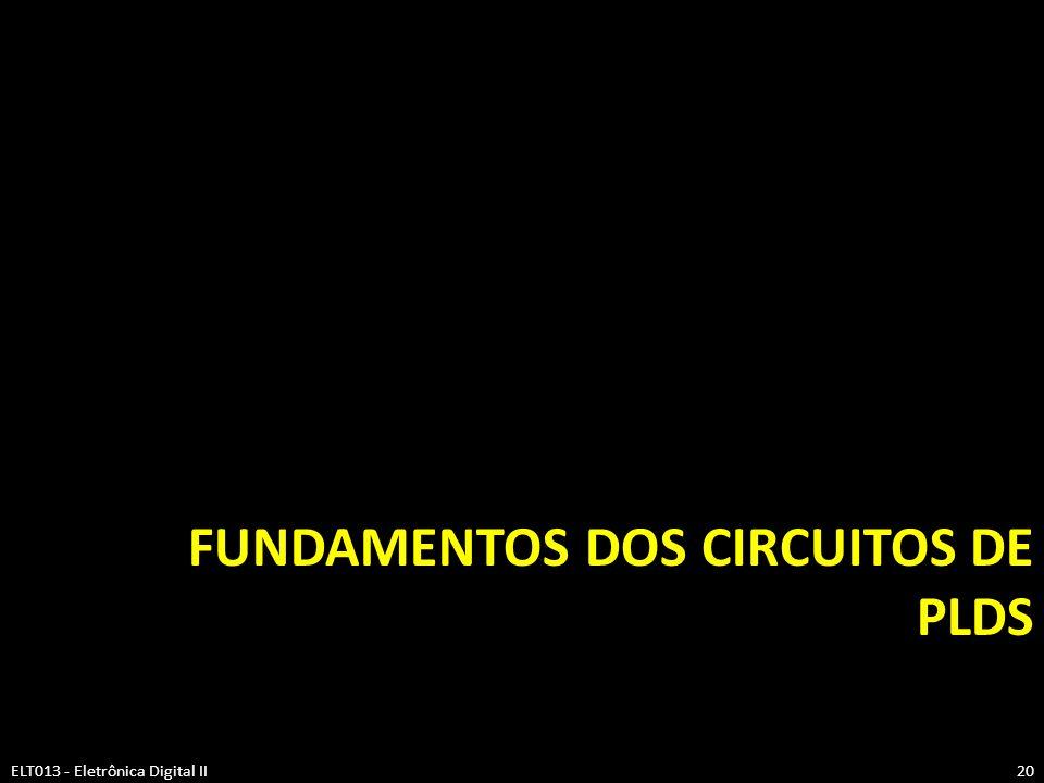 Fundamentos dos circuitos de PLDs