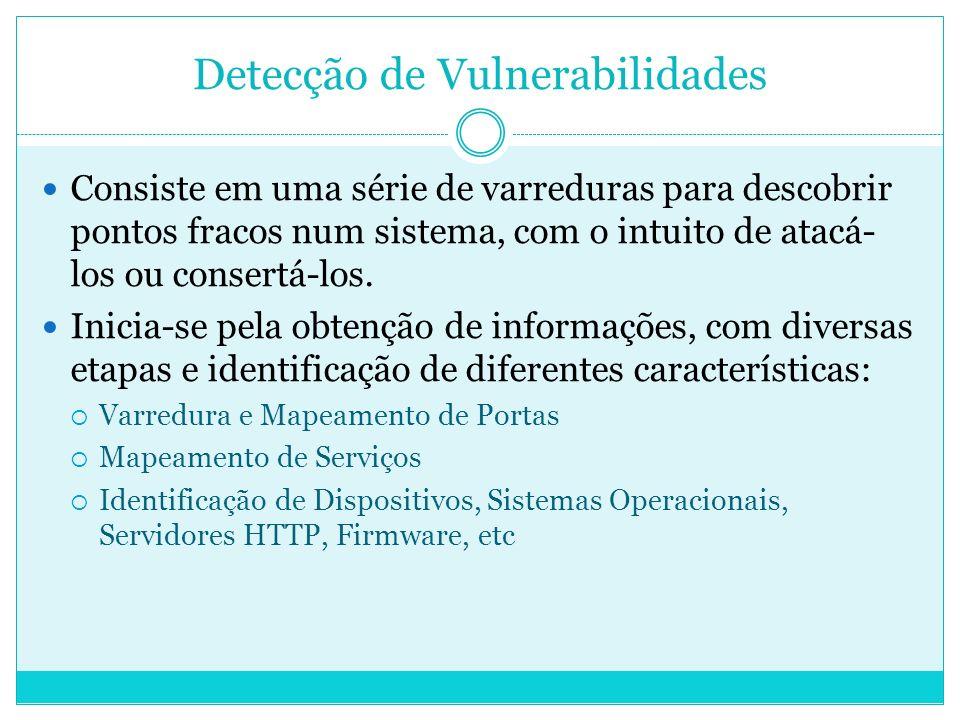 Detecção de Vulnerabilidades