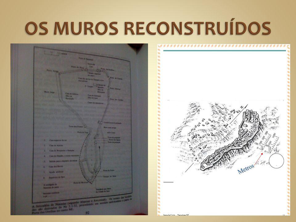 OS MUROS RECONSTRUÍDOS