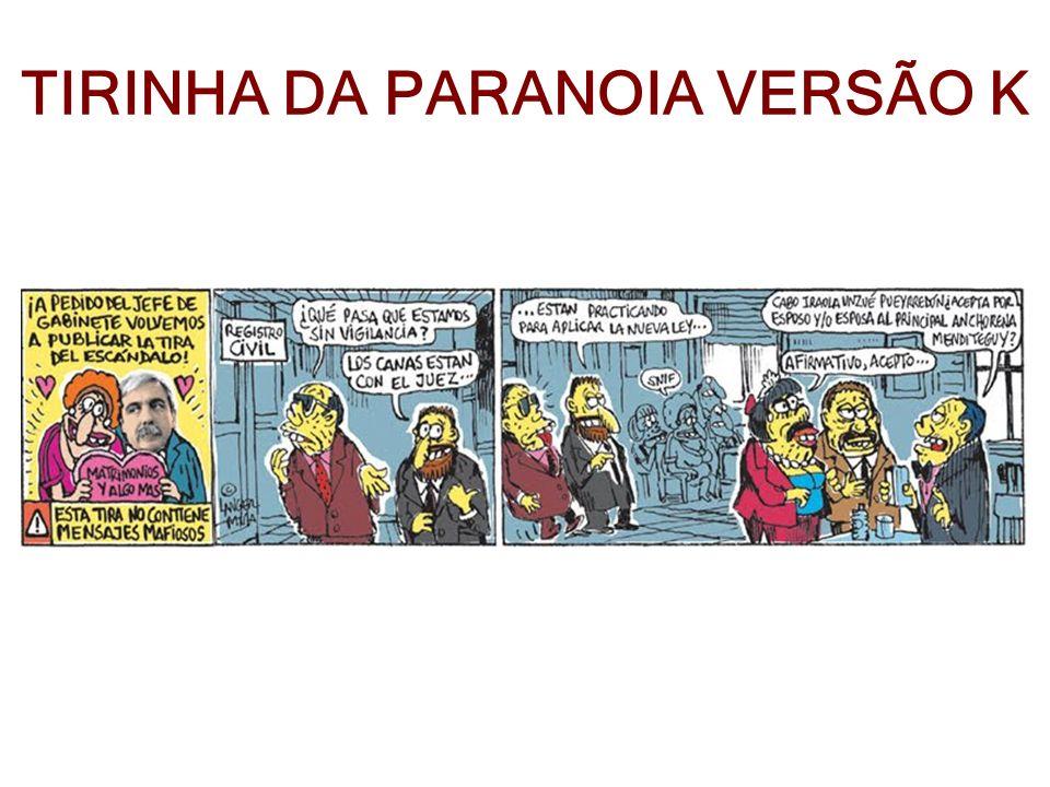 TIRINHA DA PARANOIA VERSÃO K