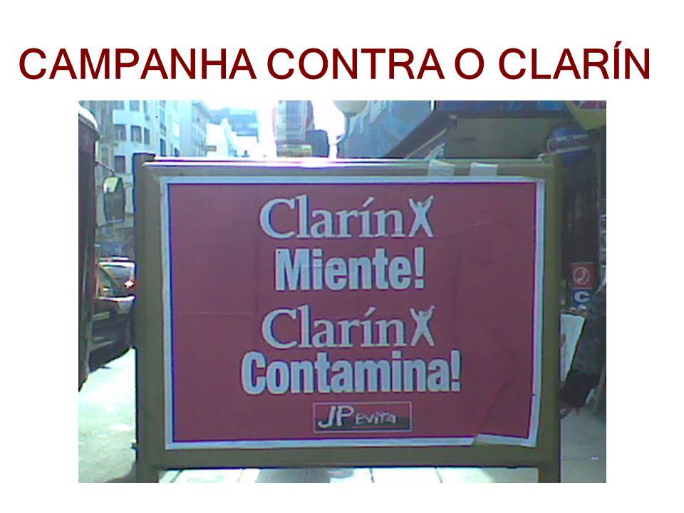 CAMPANHA CONTRA O CLARÍN