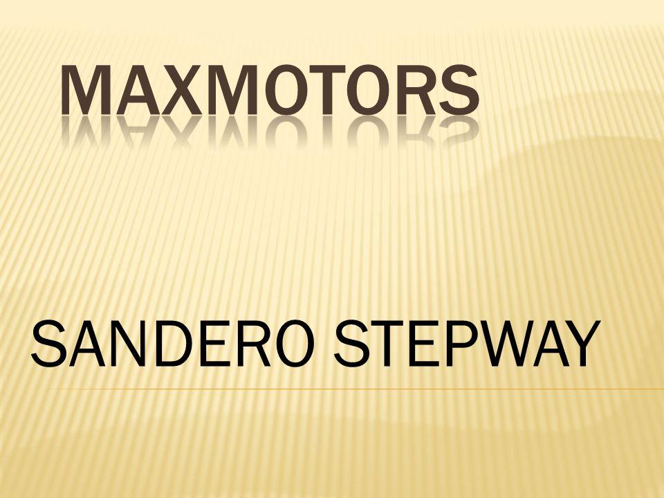 MAXMOTORS SANDERO STEPWAY