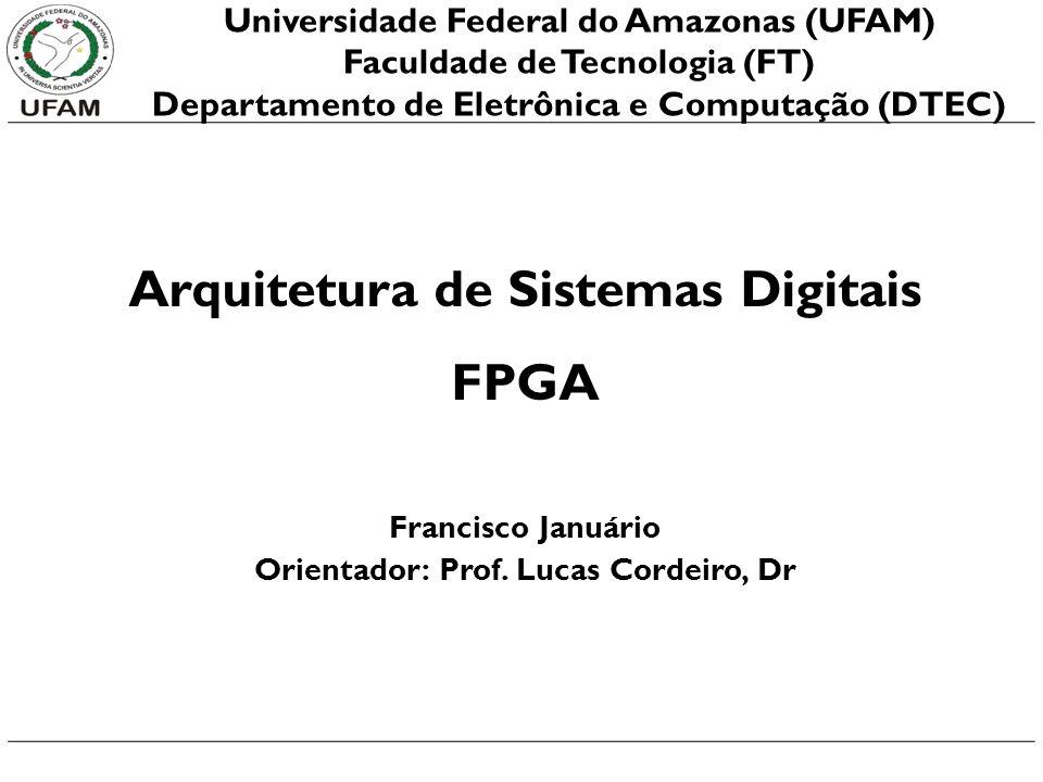 Arquitetura de Sistemas Digitais FPGA