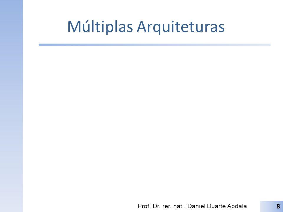 Múltiplas Arquiteturas