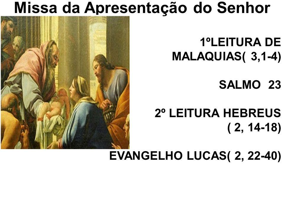 Missa da Apresentação do Senhor