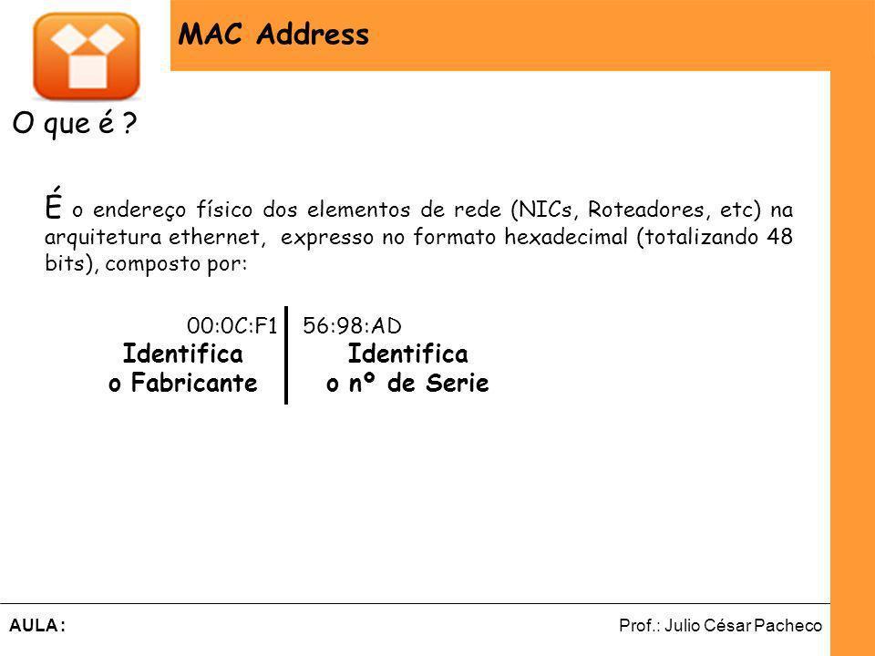 MAC Address O que é