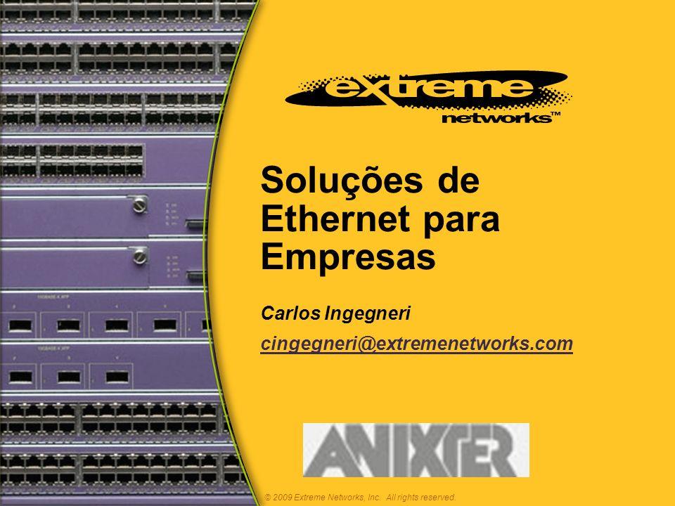 Soluções de Ethernet para Empresas
