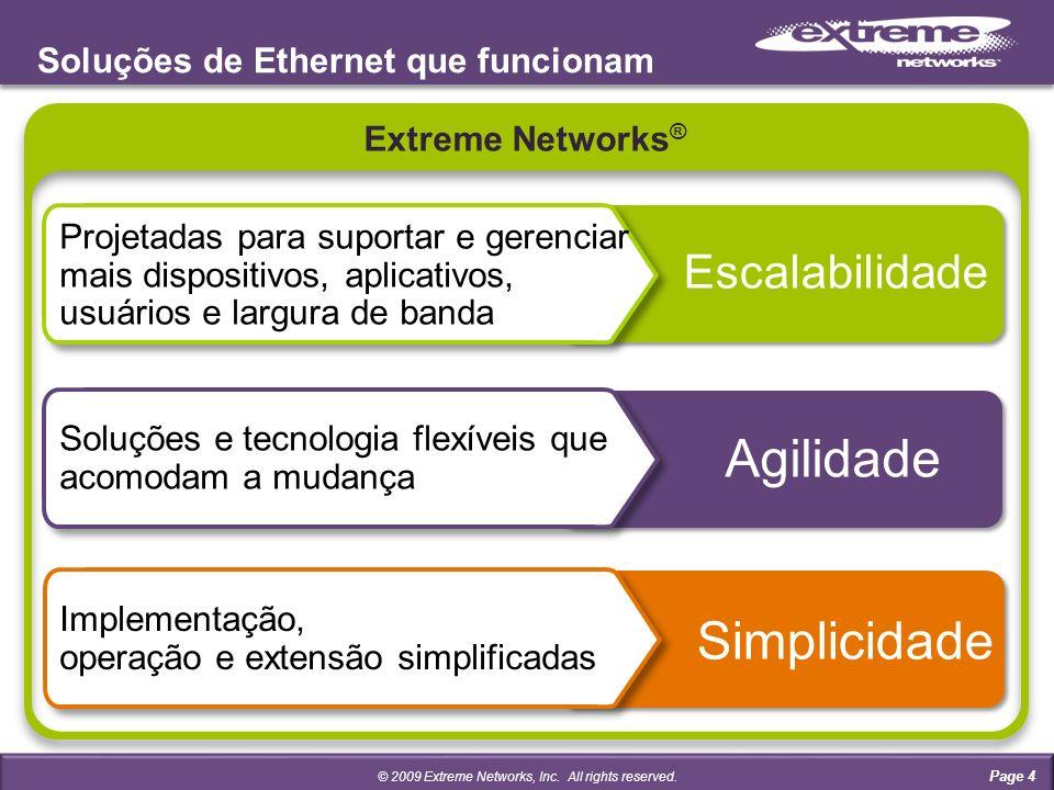 Soluções de Ethernet que funcionam