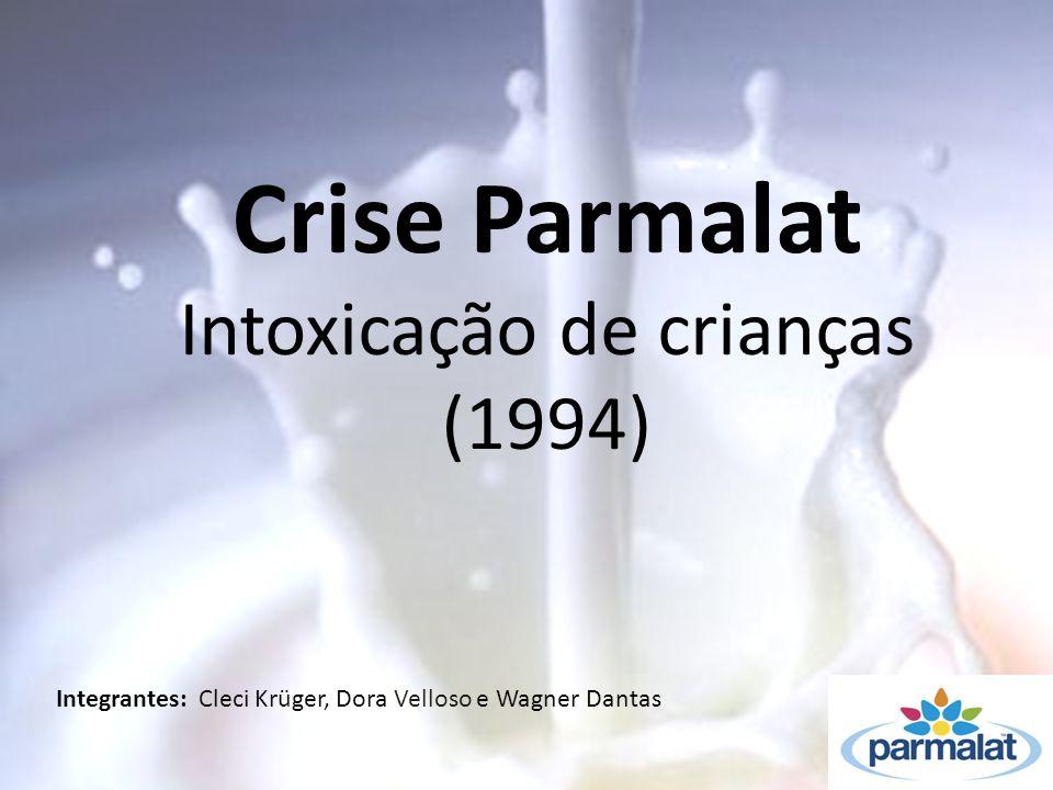 Crise Parmalat Intoxicação de crianças (1994)