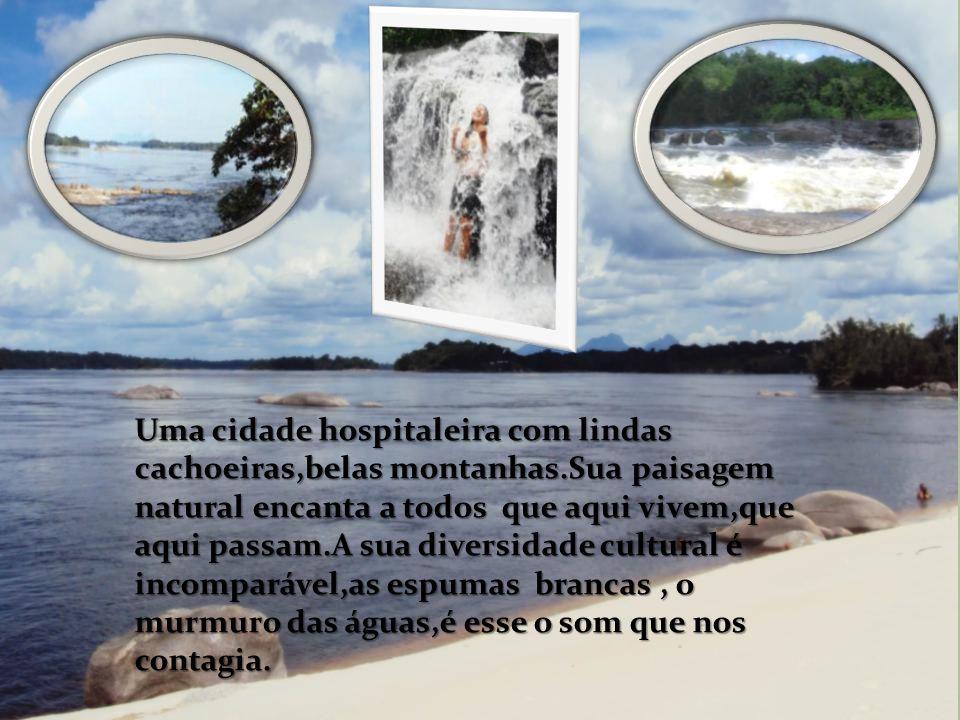 Uma cidade hospitaleira com lindas cachoeiras,belas montanhas