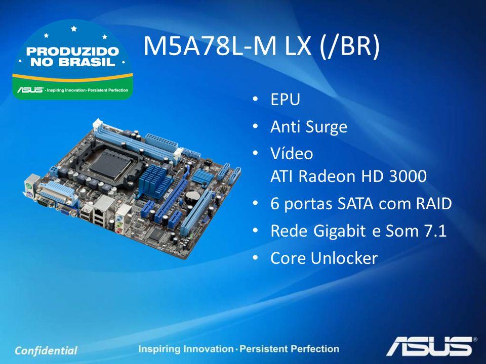 M5A78L-M LX (/BR) EPU Anti Surge Vídeo ATI Radeon HD 3000