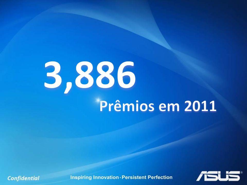 3,886 Prêmios em 2011