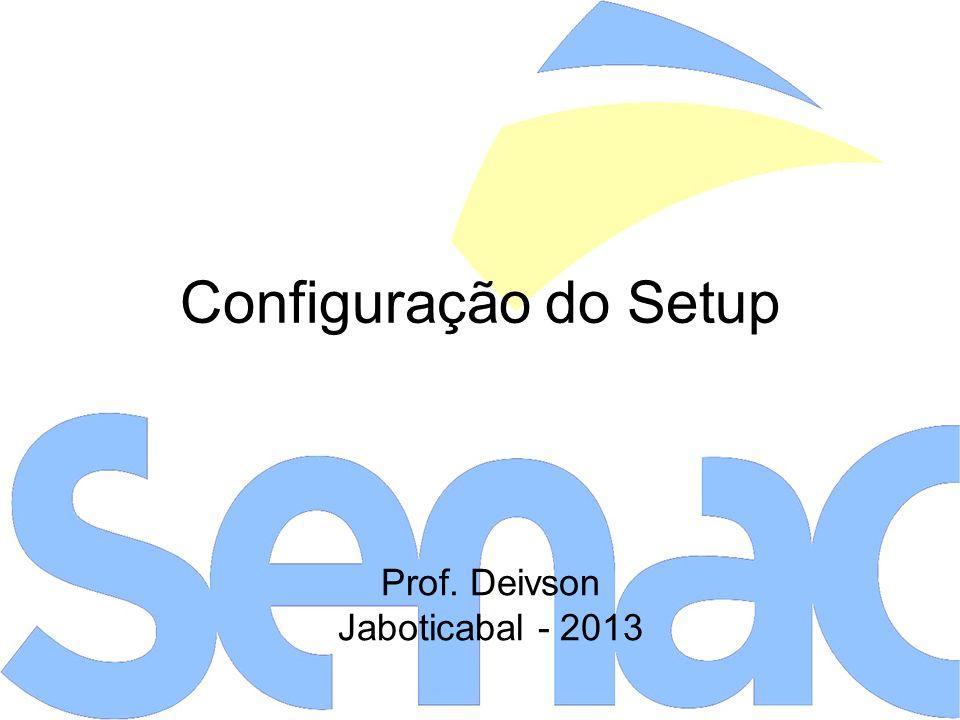 Prof. Deivson Jaboticabal - 2013