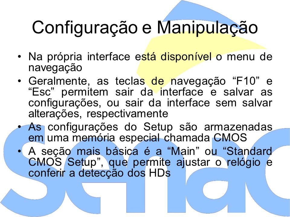 Configuração e Manipulação