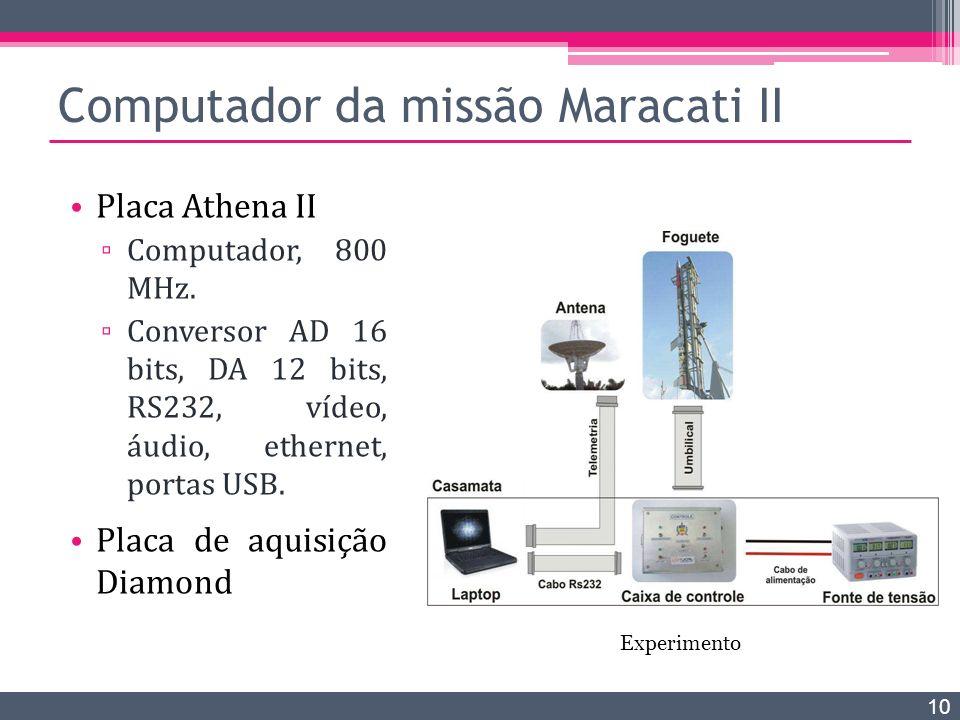 Computador da missão Maracati II