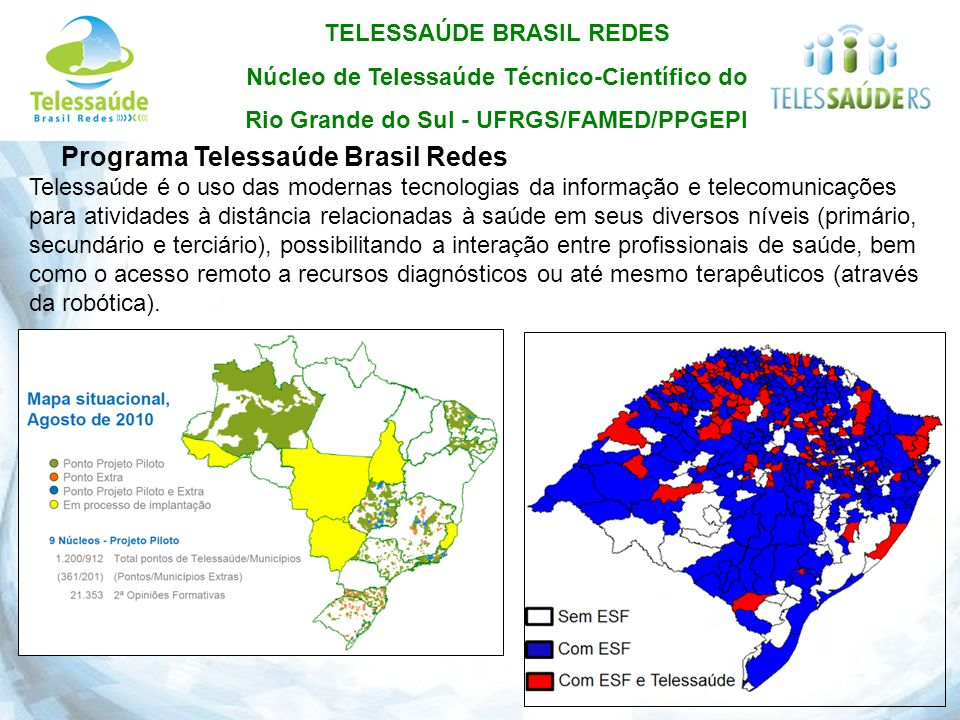 Programa Telessaúde Brasil Redes