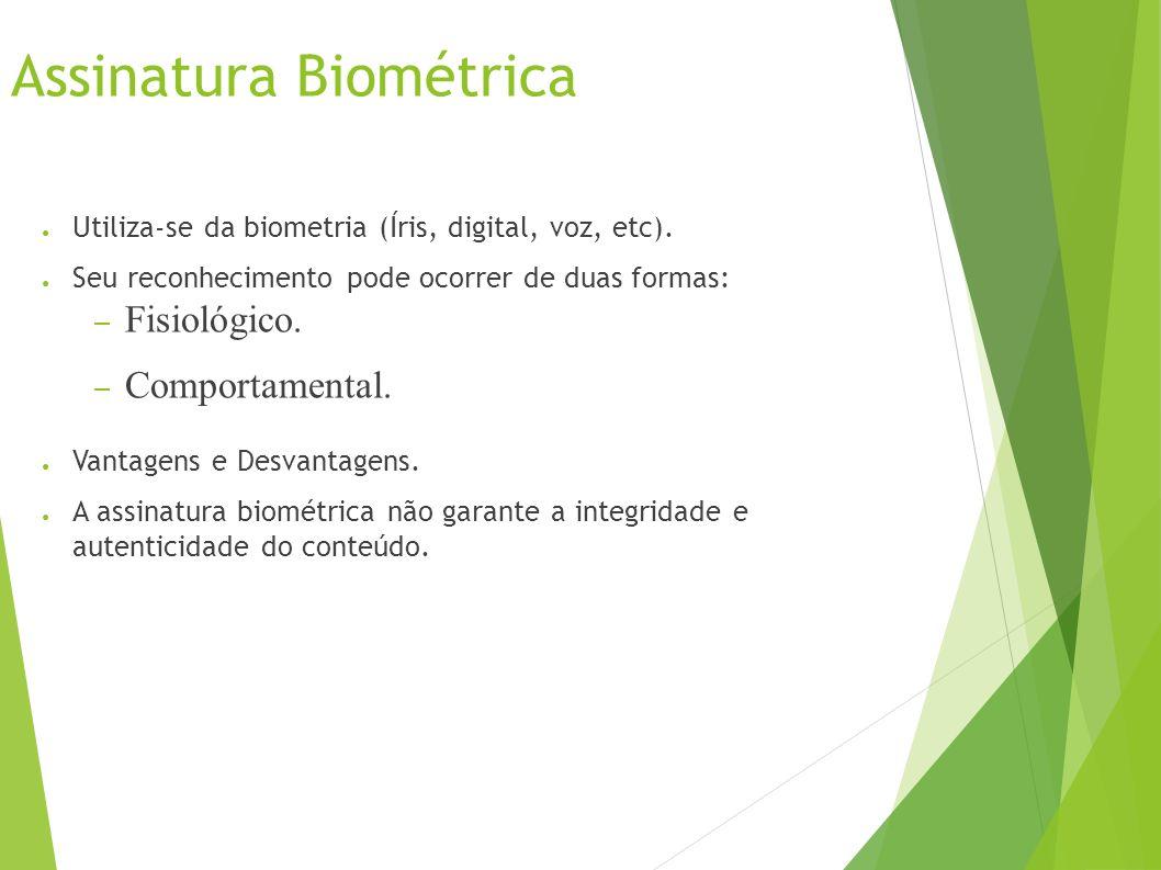 Assinatura Biométrica