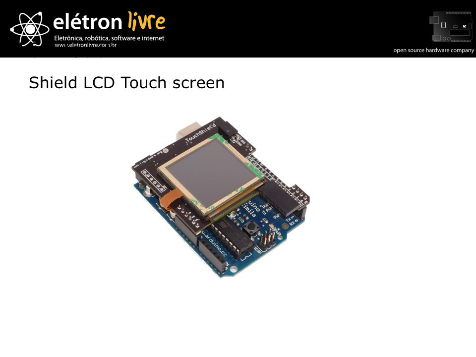 Shield LCD Touch screen