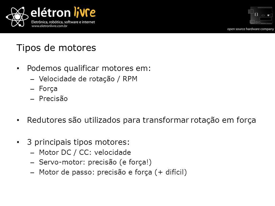 Tipos de motores Podemos qualificar motores em: