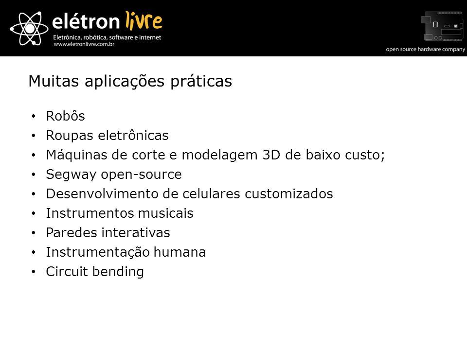 Muitas aplicações práticas