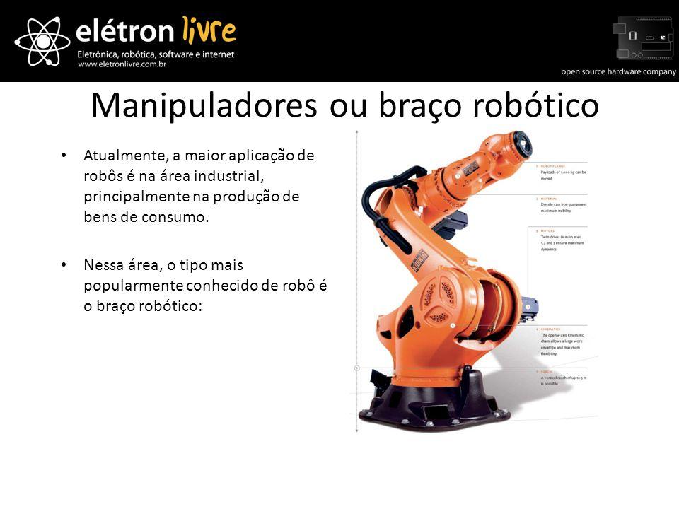 Manipuladores ou braço robótico