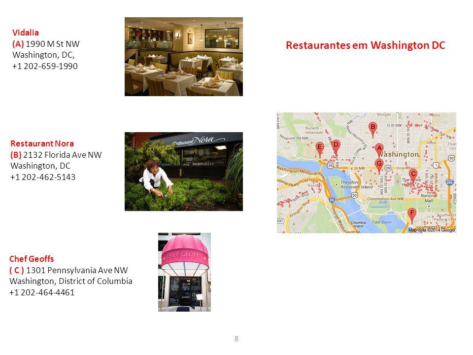 Restaurantes em Washington DC