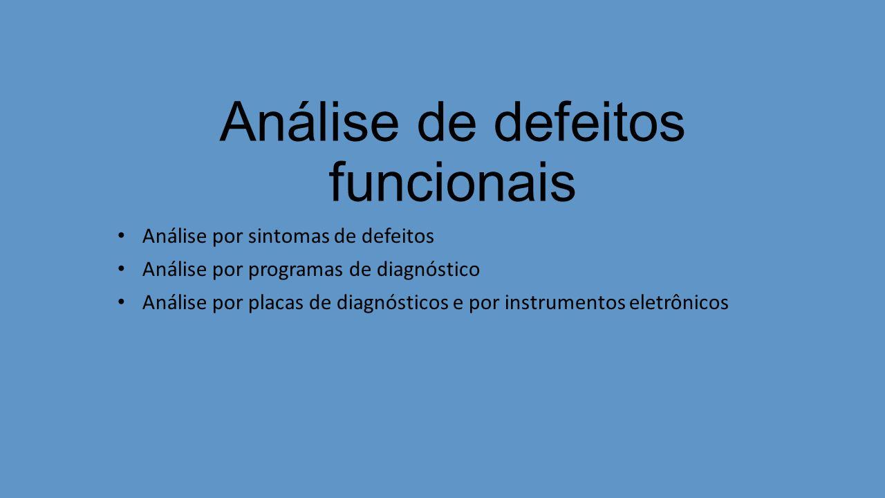 Análise de defeitos funcionais