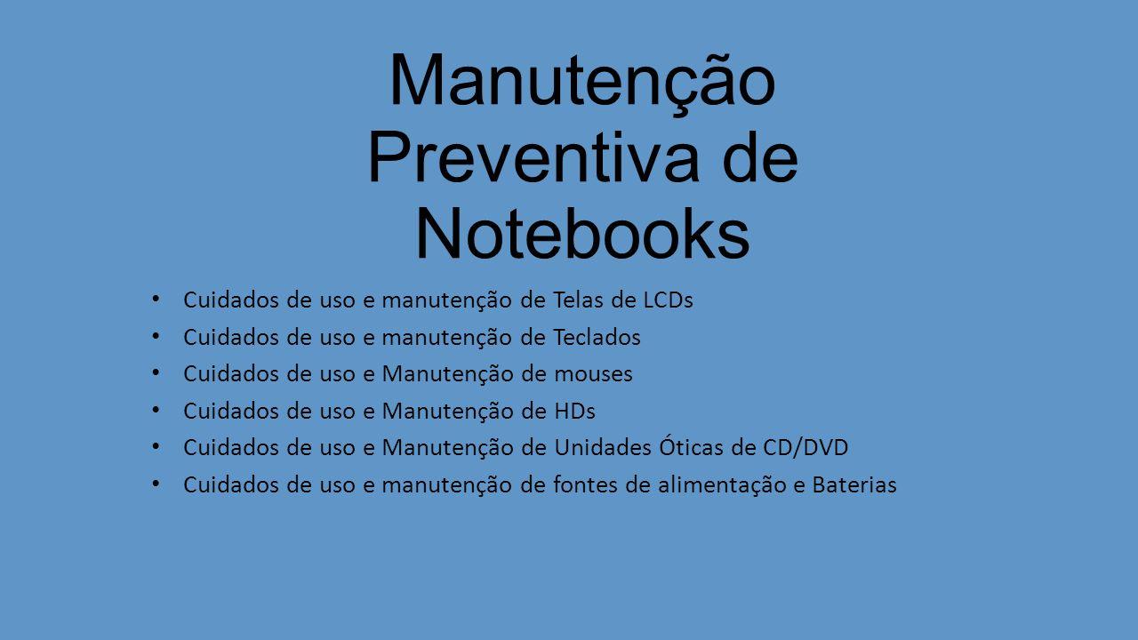 Manutenção Preventiva de Notebooks