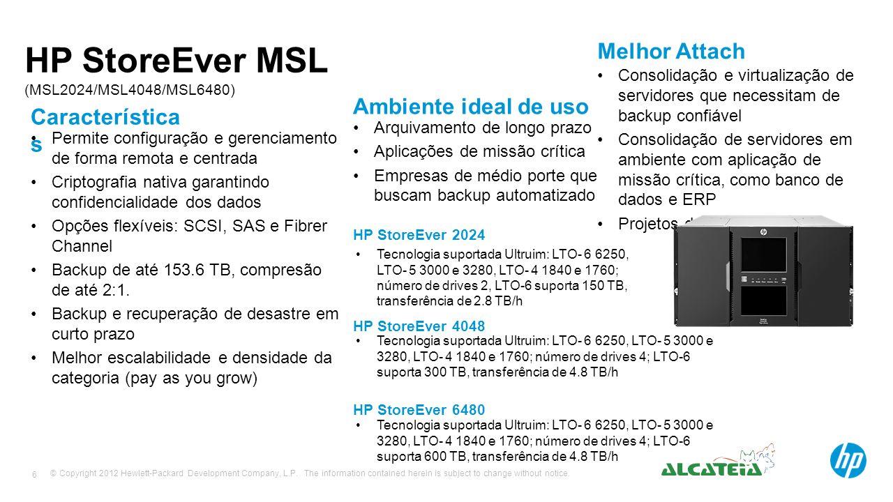 HP StoreEver MSL (MSL2024/MSL4048/MSL6480)