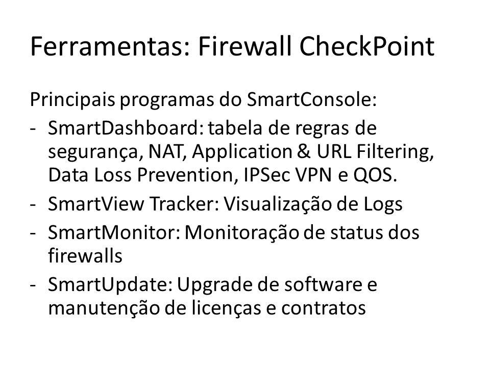 Ferramentas: Firewall CheckPoint