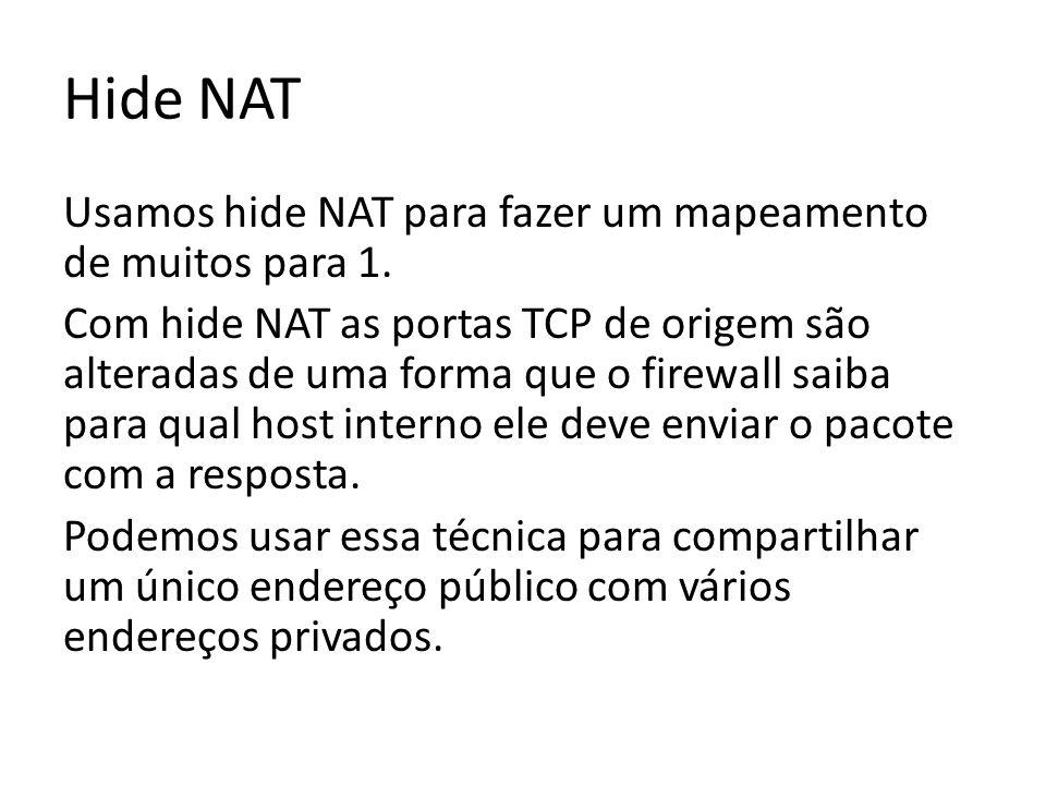 Hide NAT