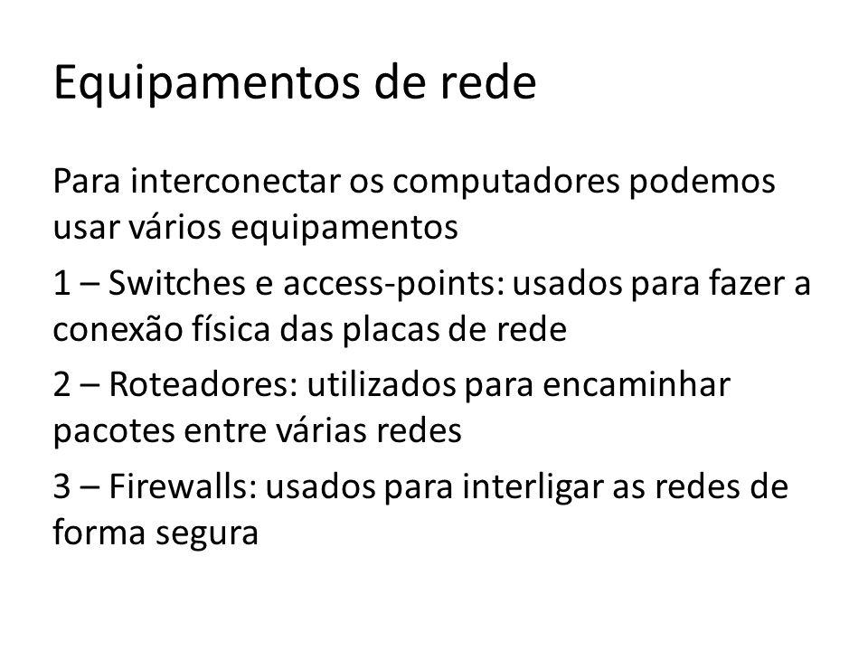 Equipamentos de rede