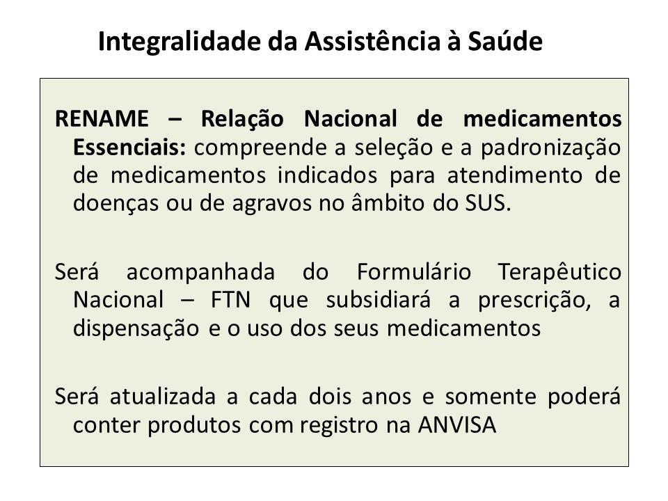 Integralidade da Assistência à Saúde