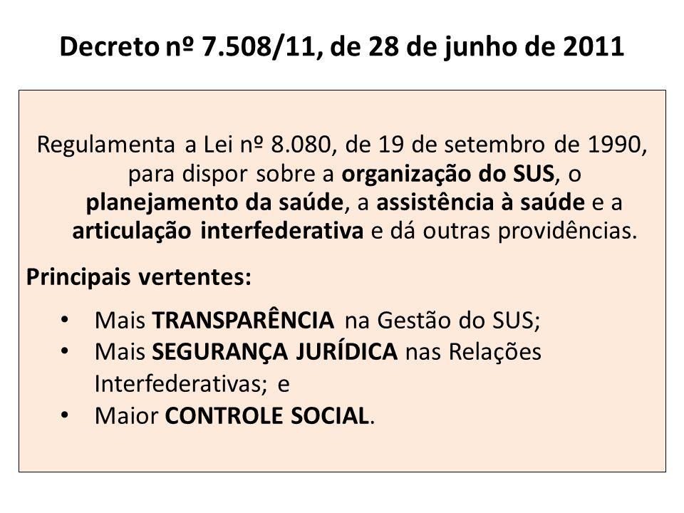Decreto nº 7.508/11, de 28 de junho de 2011