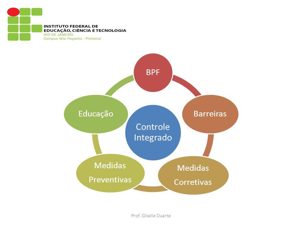 Prof. Giselle Duarte Controle Integrado BPF Barreiras Corretivas