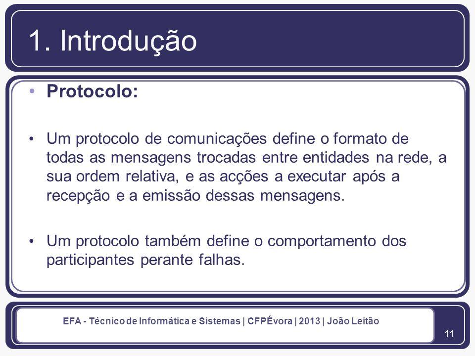 1. Introdução Protocolo: