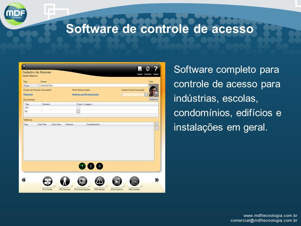 Software de controle de acesso
