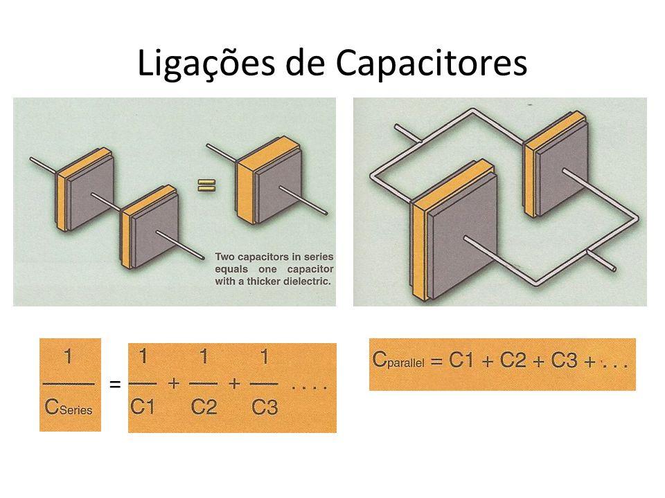 Ligações de Capacitores